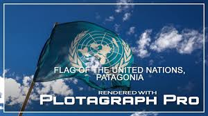 Picture Of Un Flag Flag Of The United Nations Plotagraph Pro Youtube