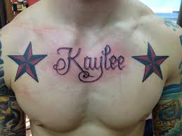 11 best tattoos with names on chest for images on