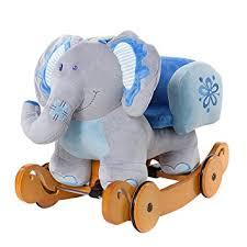 siege a bascule bebe labebe cheval à bascule enfant bleu éléphant bascule bois avec
