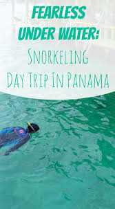 New Jersey snorkeling images Fearless under water snorkeling in panama eva explores jpg