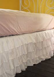 White Ruffle Crib Bedding Outstanding 51 Best Bedding Bed Skirts Images On Pinterest In