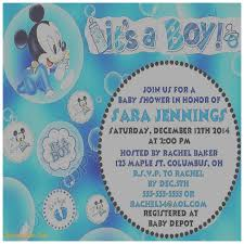 Free Mickey Mouse Baby Shower Invitation Templates - baby shower invitation best of baby mickey mouse baby shower