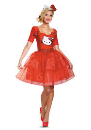 hello kitty costumes womens girls hello kitty halloween costumes