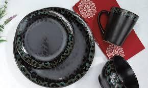 cuisinart collection 16 stoneware dinnerware set groupon