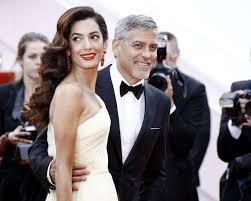george clooney wedding george clooney on his second wedding anniversary with amal