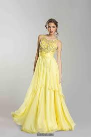 yellow prom dresses long dresses online