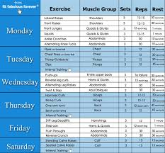 at home workout plans for women weekly workout routine weightloss pinterest weekly workout