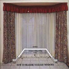 Measuring Bay Windows For Curtains Easy Track Curtain Tracks