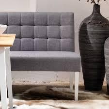 Esszimmer Sofa Modern Esszimmersofa Grandey In Hellgrau Webstoff Pharao24 De