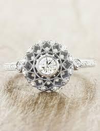 filigree engagement ring cordelia antique inspired filigree engagement ring ken