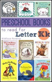preschool books for letter k wildflower ramblings