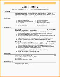 Sample Teacher Resume Indian Schools Examples Of Teacher Resume Resume Example And Free Resume Maker