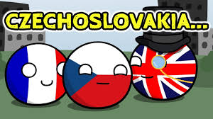 Czechoslovakia Flag 1938 Czechoslovakia Is Safe Countryballs Youtube