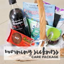 care package for someone sick diy morning sickness care package local adventurer