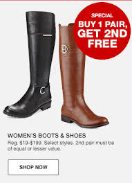 s boots sale macy s boots shoes are buy one get one free plus free shipping
