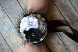 Corsage And Boutonniere For Homecoming Prom Wedding Chiffon Satin Flower Wrist Corsage U0026 Boutonniere