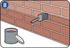 How To Paint A Brick Wall Exterior - paint your outside walls yourself