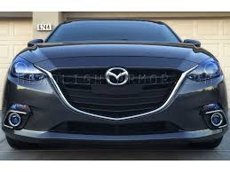 2016 mazda 3 fog light kit 14 16 mazda mazda3 4 door or 5 door fog light protection film kit