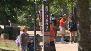 halloween city auburn al auburn university responds after weekend report wrbl
