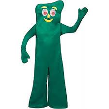 Light Socket Halloween Costume Amazon U0027s Deluxe Gumby Halloween Costume Clothing
