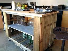 pallet kitchen island kitchen island made from pallets pallet kitchen island this kitchen
