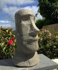 easter island statues for garden exhort me