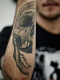 The Best Shoulder Tattoos - 125 kick skull tattoos for