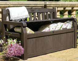 outdoor furniture storage bench outdoor cushion storage bench
