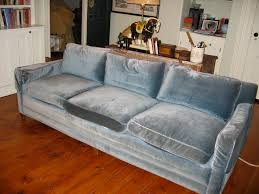 Velvet Sofa For Sale library townhouse turnaround