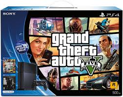 black friday ps4 amazon com playstation 4 black friday bundle grand theft auto v