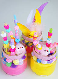 getting ready for easter homemade flowers by tots bebe and bear