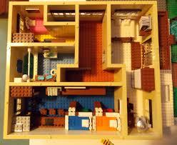 lego modern british semi detached house upper floor plan u2026 flickr