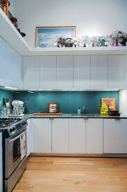 glass backsplashes for kitchens glass kitchen backsplash ideas tile alternative apartment therapy