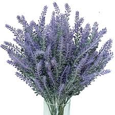 lavender bouquet juyo vonsan 16pcs artificial flowers artificial