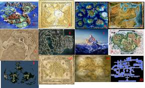 Suikoden World Map by Oh You Know All Things Lulz