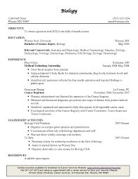 Resume Email Body Sample by Biology And Chemistry Student Resume Sample Are Downloadable As