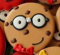 nerdy cookie decorated cookies u2013 the sweet adventures of sugar belle