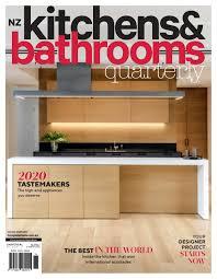 wooden kitchen cabinets nz nz kitchens bathrooms quarterly 27 1 by universal media