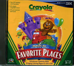 109 11857 crayola magic 3d coloring book favorite places video