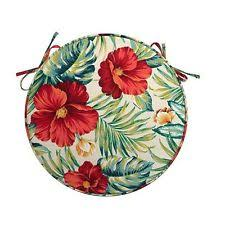 Outdoor Bistro Chair Pads Tropical Patio U0026 Garden Furniture Seat Pads Ebay