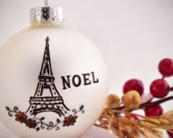 eiffel tower ornament etsy