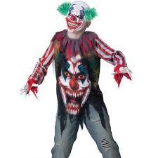 kids killer clown affordable halloween costume cheap halloween