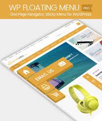 Sticky Top Bar One Page Navigator Sticky Menu For Wordpress Wp Floating Menu