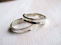 simple wedding ring sets simple contemporary wedding bands set wedding ring