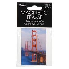 magnetic picture frame clear acrylic 2x3 inches