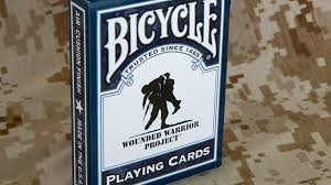 wounded warrior cards articles bicycle cards