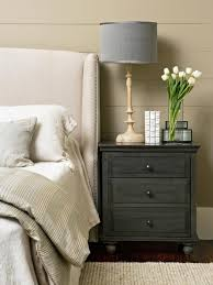 how high should a bedside table be next to the bed the seana method