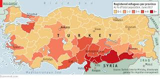 Map Of Syria And Surrounding Countries by Turkey Is Taking Care Of Refugees But Failing To Integrate Them