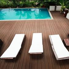 Teak Floor Tiles Outdoors by Newtechwood Deck A Floor Premium Modular Composite Outdoor