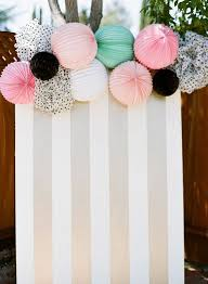 wedding backdrop board card board wrapping paper lanterns for a party backdrop